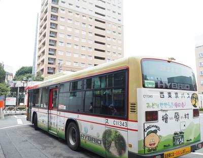福生駅からの私営バス